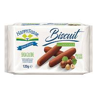 HAPPY FARM BISC NOCCIOLA 120G