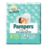 PAMPERS BD DOWNCOUNT MIDI 20PZ