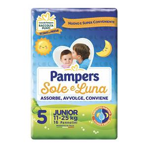 PAMPERS SOLE&LUNA FLASH J 16PZ