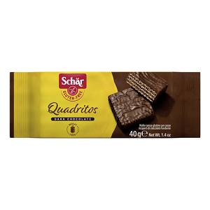 SCHAR QUADRITOS WAFER 40G